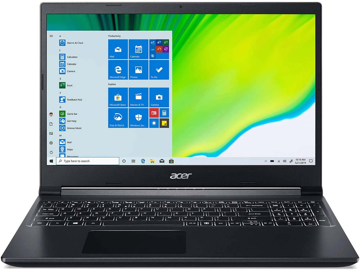 Acer Aspire 7 - great laptop under 00